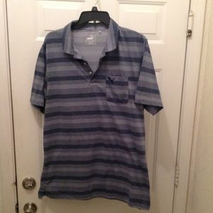 Men's puma Golf shirt size large